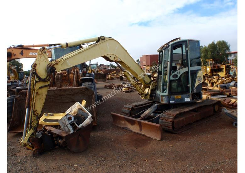 Parts and Wrecking 2007 Yanmar VIO75-A 7-20 Tonne Excavator in
