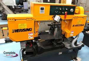 EVERISING S-4633SA BAND SAW | SEMI AUTO | MITRE CUTTING | 460 x 330MM CAPACITY | INVERTER