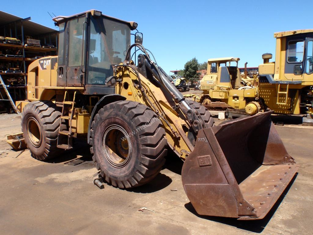 Parts and Wrecking 2008 Caterpillar 924H Loader Wrecking in