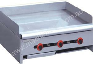RGT-36 Three Burner Griddle - 915mm wide on Stand