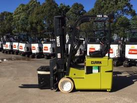 Clark TMX15S Battery Electric Forklift Space-Saver