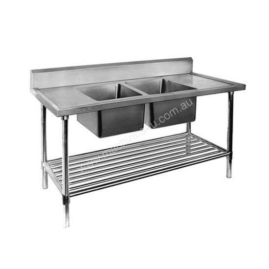 F.E.D. DSB6-1500C/A Double Centre Sink Bench with Pot Undershelf