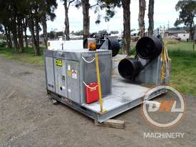 Ozzy Cranes 2x bull winch Winches Tooling
