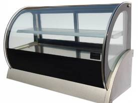 DGC0540 1200mm Countertop curved showcase - picture0' - Click to enlarge