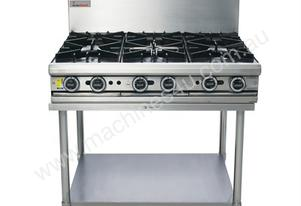 Trueheat 6 Open Burner Oven Top