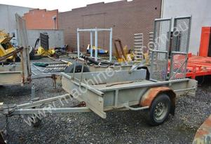 PANTON HILL SINGLE AXLE PLANT TRAILER
