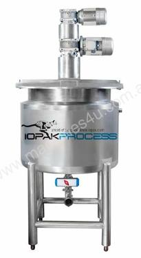 Jacketed 250L Cooker Kettle (Contra Rotating) 316