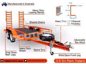 3.5 TON Heavy Duty Plant Trailer Deluxe ATTPT - picture2' - Click to enlarge