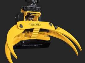 GMT050 felling grapple saw for 8+ ton excavators - picture0' - Click to enlarge