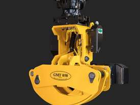 GMT050 felling grapple saw for 8+ ton excavators - picture1' - Click to enlarge