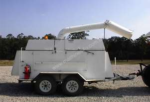 Telcor Wood chipper   12 inch