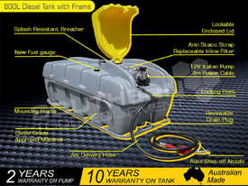 600L Diesel Fuel Tank Fuel Storage Unit 12V Italian pump TFPOLYDD - picture1' - Click to enlarge
