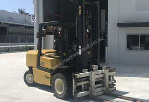 Yale 5T used forklift, 4.3m 2 stage mast, wide carriage. A steal at under $25k + gst. Get in Quick