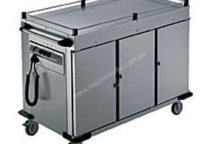 Rieber NORM-III-0 - 3 x Heated Cabinets Mobile Food Transport Trolley