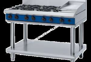 Blue Seal G518C-LS Heavy Duty Gas Cook Top - Leg Stand Model