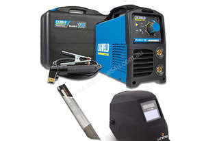 Cigweld 180 Weldskill Super Arc Welder Package (W1008180) - Helmet Upgraded