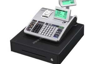 Casio SE-S400 Single Roll Cash Register with Multiline Display