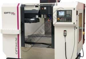 F150TC OPTi-Mill Optimum CNC Milling Machine (X) 650mm (Y) 500mm (Z) 500mm