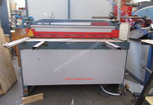Guillotine up to 3mm 1350mm Wide Durma MS1303 3 phase