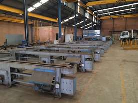 Used Vernet Behringer Beam Line Drill and Saw - picture0' - Click to enlarge