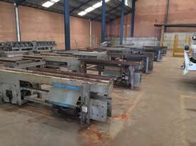 Used Vernet Behringer Beam Line Drill and Saw - picture2' - Click to enlarge