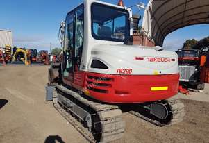 UNUSED TACKEUCH TB290 8.7T EXCAVATOR WITH ALL OPTIONS AND BUCKETS