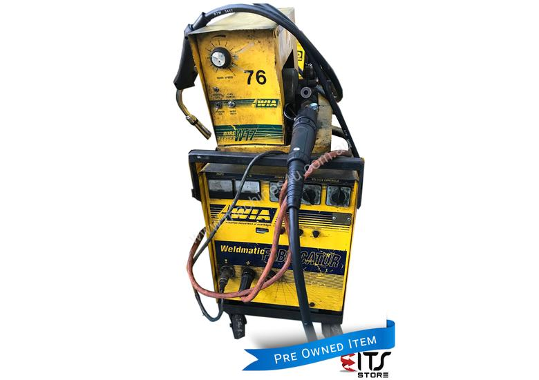 WIA MIG Welder 320 Amp Weldmatic Fabricator with W17 SWF Wire Feeder