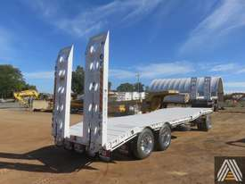 2018 NEW FWR TRI AXLE DOG TRAILER - picture2' - Click to enlarge
