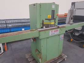 TWIN MITRE SAW Alfamacchine T 400, Made in Italy, Suit Picture Framing, Aluminium, Flyscreens $1,800 - picture2' - Click to enlarge