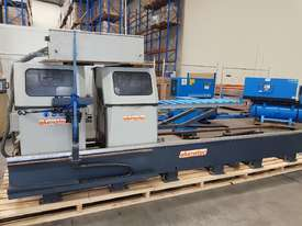 TWIN MITRE SAW Alfamacchine T 400, Made in Italy, Suit Picture Framing, Aluminium, Flyscreens $1,800 - picture14' - Click to enlarge