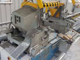 TWIN MITRE SAW Alfamacchine T 400, Made in Italy, Suit Picture Framing, Aluminium, Flyscreens $2,420 - picture11' - Click to enlarge