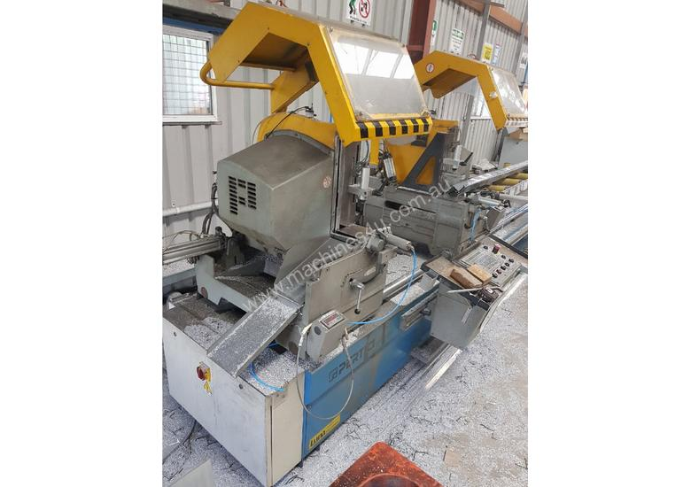 TWIN MITRE SAW Alfamacchine T 400, Made in Italy, Suit Picture Framing, Aluminium, Flyscreens $2,420