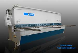 INANLAR 6100 x 20mm CNC Hydraulic Guillotine Shear
