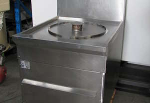 Stainless Steel Commercial Kitchen Gas Steamer - B