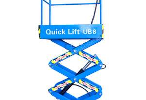 QUICK LIFT 8ft Push around Scissor Lift