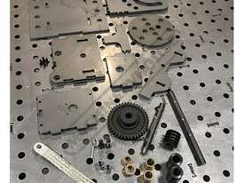 PO1-000 CertiFlat Welding Positioner Kit Ø150mm Face Plate - picture8' - Click to enlarge
