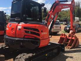 For Dry Hire Near New Kubota U55-4 Excavator with Power Tilting Head, Buckets & Ripper, Air Cond Cab - picture4' - Click to enlarge