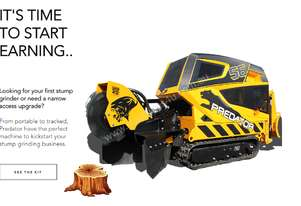 Coming Soon - 2019 Predator 56RX Remote Controlled Stump Grinder