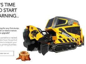 Coming Soon - 2019 Predator 56RX Remote Controlled Stump Grinder - picture0' - Click to enlarge