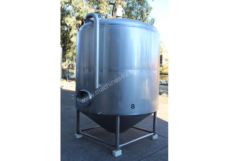 Stainless Steel Insulated Mixing Tank