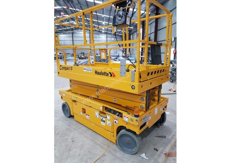 Large deck electric sissor lift