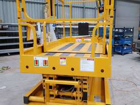 Large deck electric sissor lift - picture4' - Click to enlarge