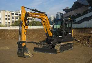 CASE CX57C C-SERIES MINI-EXCAVATORS
