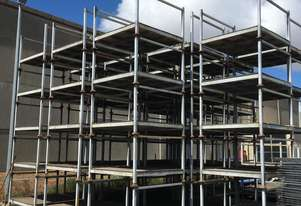 STILLAGES  HEAVY DUTY GALVANISED STEEL IN GOOD CONBITION