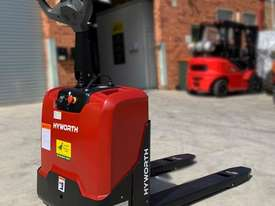 HYWORTH 2T Electric Pallet Mover HIRE from $155pw + GST - picture0' - Click to enlarge