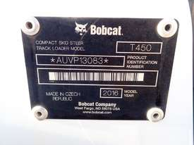 Bobcat T450 Tracked Skidsteer Loader - picture19' - Click to enlarge