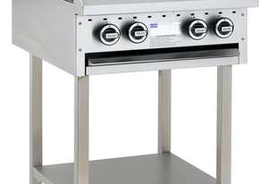 4 Burner Cooktop with legs & shelf
