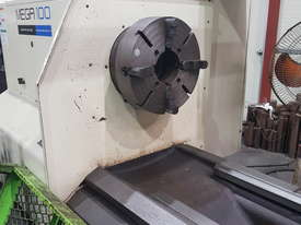 2009 Hwacheon MEGA 100x6000 CNC Lathe - picture2' - Click to enlarge