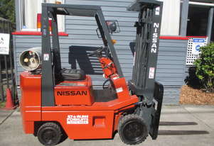 Nissan 1.5 ton Container Mast Used Forklift #1487