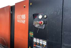 185kW Screw Compressor 1098 CFM Low Hours